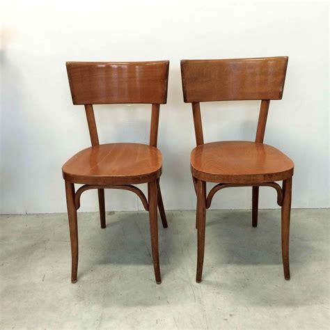 chaise bistrot baumann chaise de bistrot baumann vendues par deux en bois blond