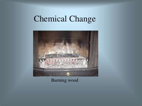 chemical physical changes iron copper deposit brown