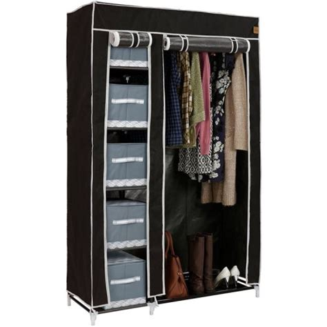 Cupboard Rails by Canvas Effect Wardrobe Clothes Cupboard Hanging