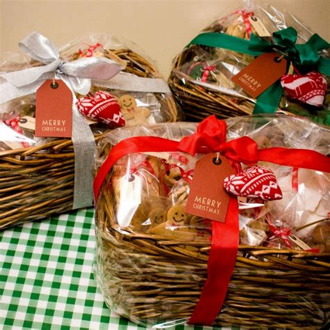 christmas diy food gifts basket ideas the gift for family and partners