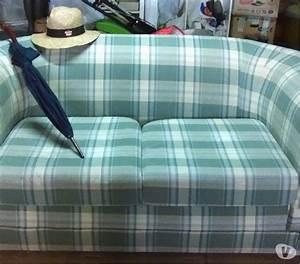 Ikea Canapé Tissu : canap ancien de style tissu vert 2 personnes posot class ~ Teatrodelosmanantiales.com Idées de Décoration
