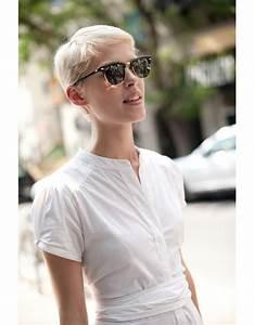 Coupe Femme Courte Blonde : coupe de cheveux courts femme hiver 2015 les plus belles coupes courtes de 2018 elle ~ Carolinahurricanesstore.com Idées de Décoration