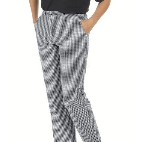 pantalon de cuisine femme pantalon cuisine ou boulanger femme lavable à 95 c