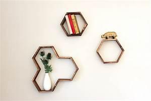 Make a DIY Hexagon Shelf With Popsicle Sticks | HuffPost