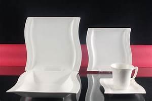Kombiservice 12 Personen Weiß : weiss tafelservice 60 teilig 12 personen porzellan set eckig kombiservice neu ebay ~ Whattoseeinmadrid.com Haus und Dekorationen