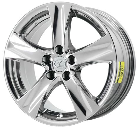 lexus    pvd chrome wheel rim factory