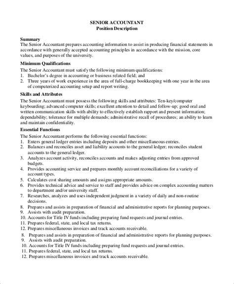bookkeeper description exle of administrative book