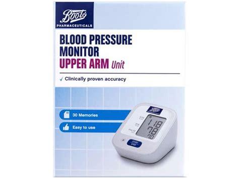 boots blood pressure monitor upper arm blood pressure