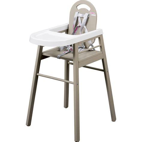chaise de bébé chaise haute bébé lili gris de combelle