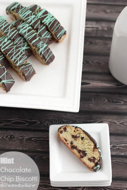 Chocolate Mint Biscotti Recipe