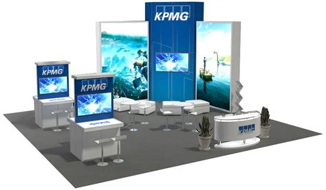 Boat Show Booth Ideas by 30x30 Ft And Larger Trade Show Booth Ideas Design