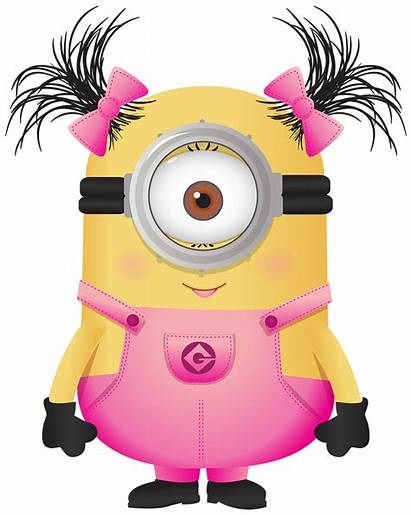 Clipart Pink Minions Minion Birthday Transparent Webstockreview