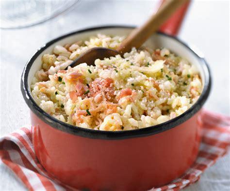 cuisine plus recette plat traditionnel italien risotto aux deux jambons et au