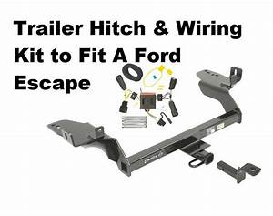 Class Ii Trailer Hitch  U0026 Wiring Kit For Ford Escape 2013