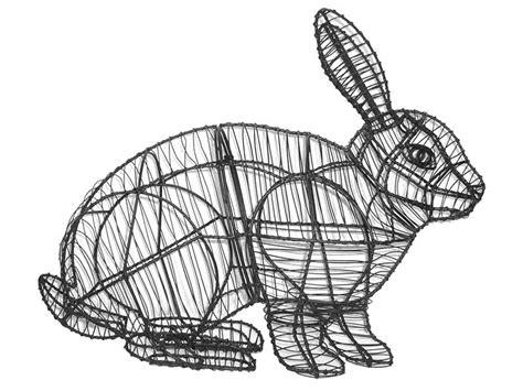 Hopping Rabbit Topiary Garden Frame