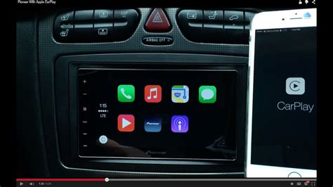 apple carplay radio pioneer radio with apple carplay