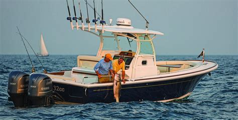 New Center Console Fishing Boats by Hunt Yachts 32 Center Console Maine Boats Homes Harbors