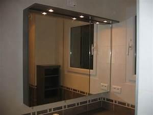 Armoire Salle De Bain Miroir Triptyque
