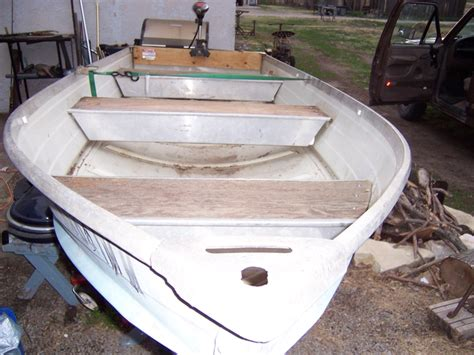 Montgomery Ward Sea King 14 Aluminum Boat by 14 Foot V Bottom Montgomery Wards Seaking Aluminum Boat