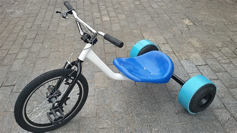 Drift Trike Dream Bike C/ Pedal E Rodas De Kart