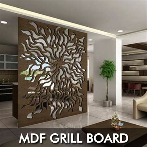 stainless steel with cutting board mdf jali