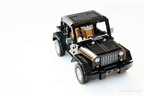 lego ideas jeep wrangler rubicon drivingline