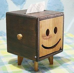 Paper towel box:For my family Woodworking Ideas