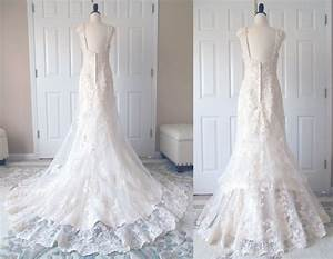 show me your bustle for lace dresses weddingbee With wedding dress bustle