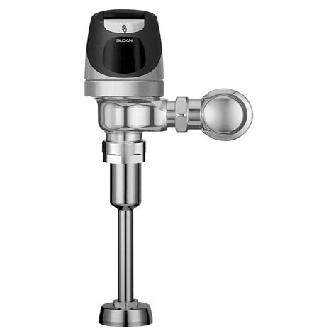 sensor operated flushers faucet sloan solar powered sensor activated solis flushometer with smart sense for 3 4 in top