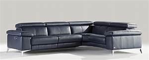 canapes d39angle en cuir cuir de buffle cuir et tissu With tapis chambre enfant avec canapé cuir relax electrique 2 places cuir center