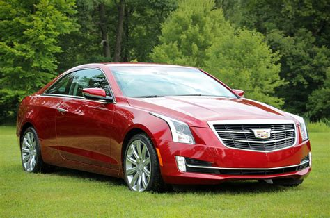 2015 red cadillac ats coupe 3 6 pictures mods upgrades