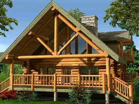 Small Chalet Designs, Small Log Cabin Home Designs Small