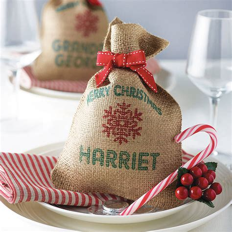 personalised mini christmas sack by harrow green