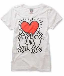 T Shirt Keith Haring : obey keith haring red heart t shirt ~ Melissatoandfro.com Idées de Décoration