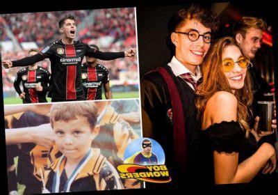 Kai havertz's girlfriend is sophia weber. German wizard Kai Havertz looks like Harry Potter, is devoted to girlfriend Sophie Weber, and ...