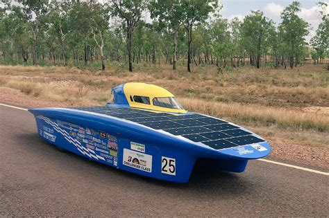 Solar Car by There Are Some Looking Solar Cars Racing Across