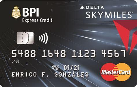 credit cards bpi cards