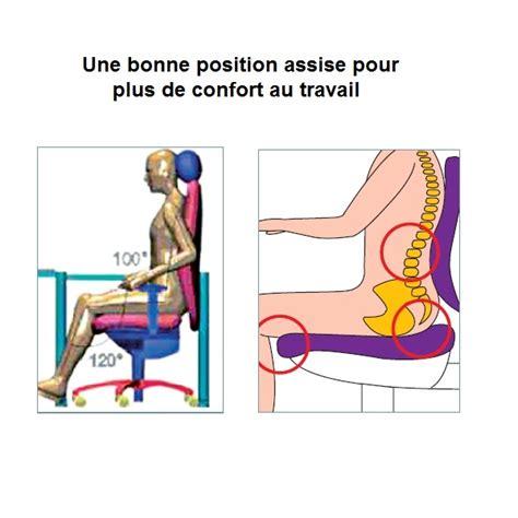 position ergonomique au bureau posture de travail assise et mal de dos les effets sur