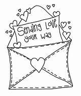 Valentine Clipart Envelope Envelopes Doodle Coloring Valentines Mail Stamps Printables Cre8tive Letters Hands Funny Photobucket Adult Digi Hope Sentiments Dessins sketch template
