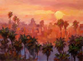 tom brown fine art los angeles large oil painting by tom