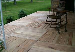 Pallet Deck Ideas Diy Pallet Deck Ideas And Instructions 99