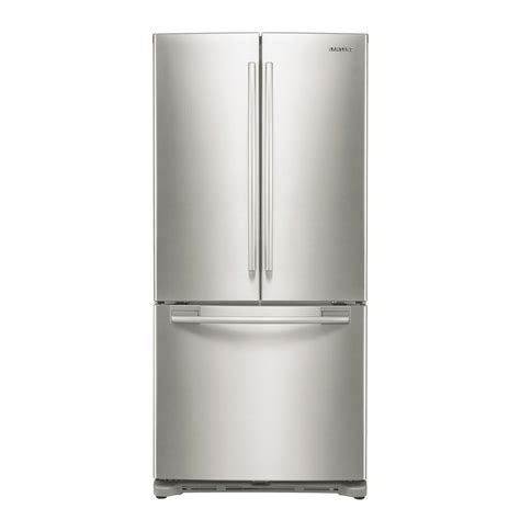 Cabinet Depth Refrigerator Width by Samsung Rf18hfenb 33 In Wide 18 Cu Ft Counter Depth