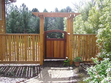 Fence - Gate : Garden Arbor With Gate Garden Arbor And Gate