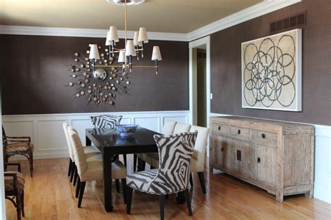 casually elegant dining room contemporary dining room