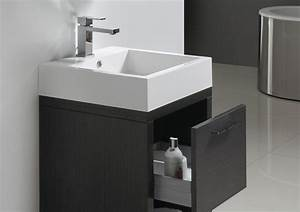 Meuble Salle De Bain A Poser : meuble vasque pas cher solo meuble vasque pas cher ~ Teatrodelosmanantiales.com Idées de Décoration