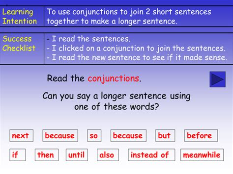 Conjunctions (connectives) Powerpoint By Barang  Teaching Resources Tes
