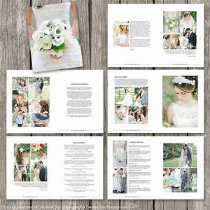 wedding photography magazine template 22 page digital With wedding photography brochure
