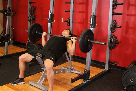 incline bench press barbell incline bench press medium grip exercise guide