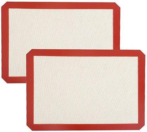 baking silicone bpa toxic mats reusable sheets half sheet professional non bestbargains