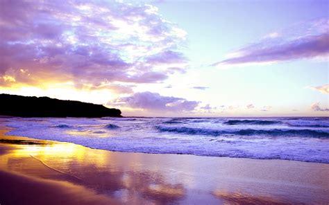 Beautiful Sunset On The Beach Wallpaper 1132348